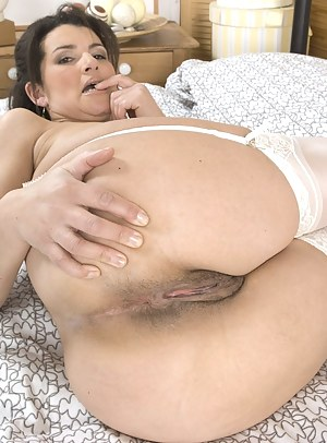 Nude ginger older women
