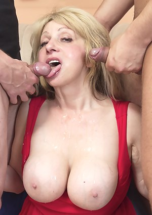 Cum on Moms Tits Porn Pictures