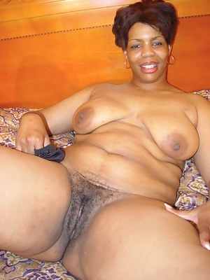 Black mature woman pusst words