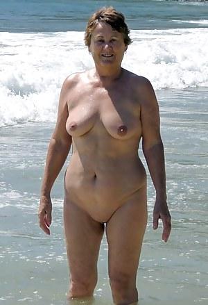 Nude moms on the beach